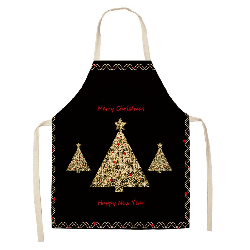 Christmas Aprons Novelty Cooking Kitchen Funny BBQ Adult Apron Xmas Gifts