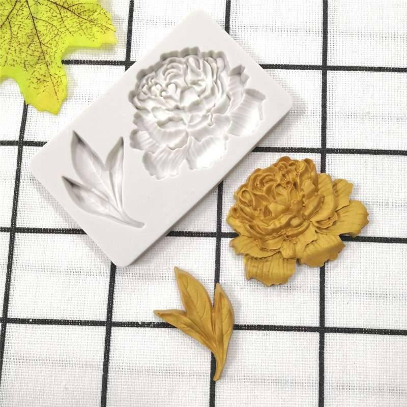 Cake Chocolate To LX/_ Mold Leaf Fondant Decorating Maple Mould Silicone Baking