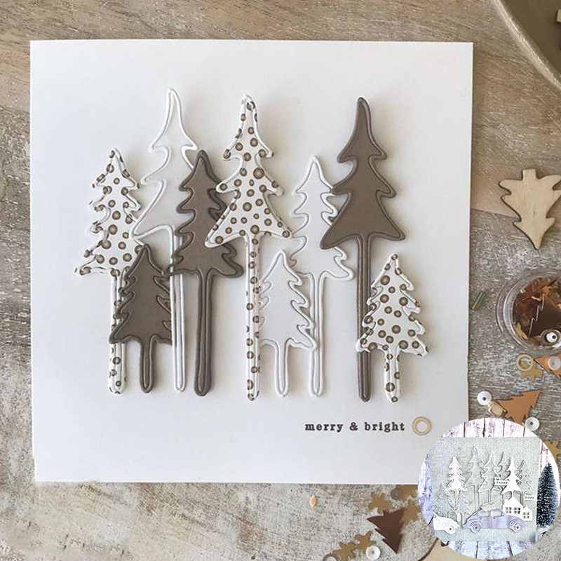 Dies for Card Making Christmas Snowflake Greeting Letter Cutting Die Scrapbook Emboss Tool Stencil Silver