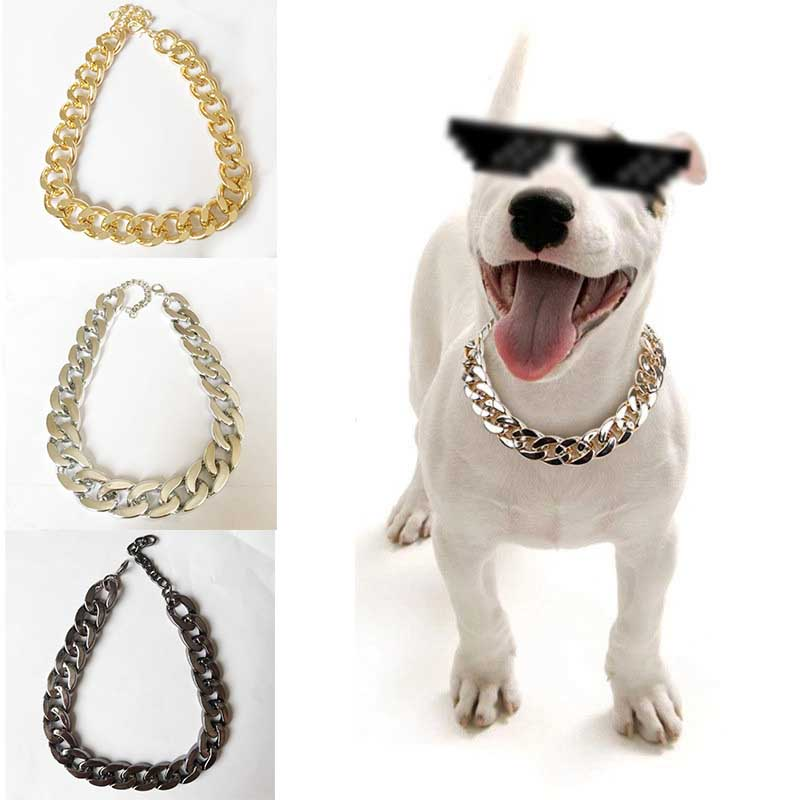Gold and Silver Stainless Steel Bells for Pet Collar Pendant Pendant 2PCS Pet Bells Pet Decorations