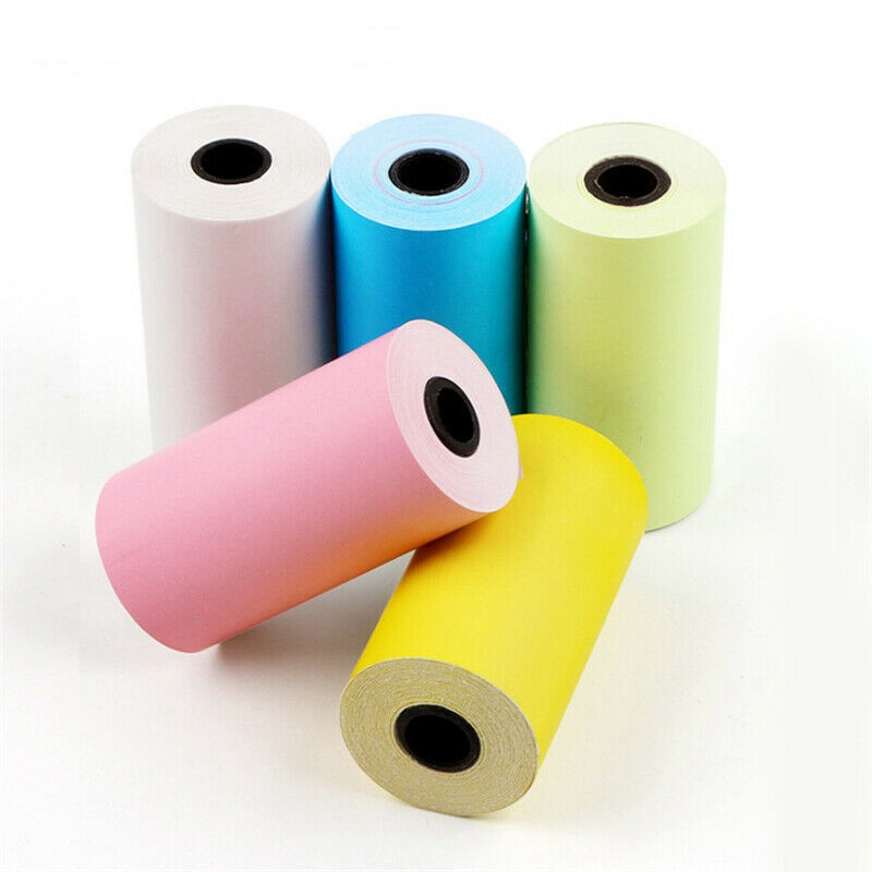 57x30mm Thermal Receipt Paper Till 3 Rolls For PAPERANG P1//P2 PeriPage Printer