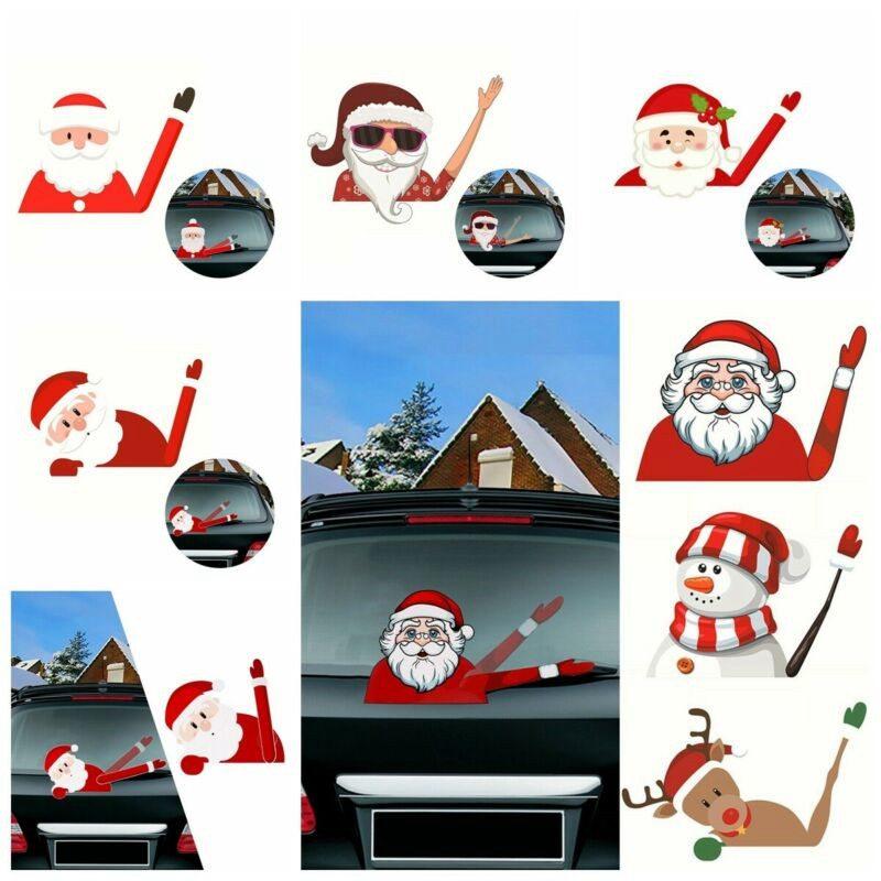 Santa waving Christmas Holiday Address Labels or Gift Label Sticker